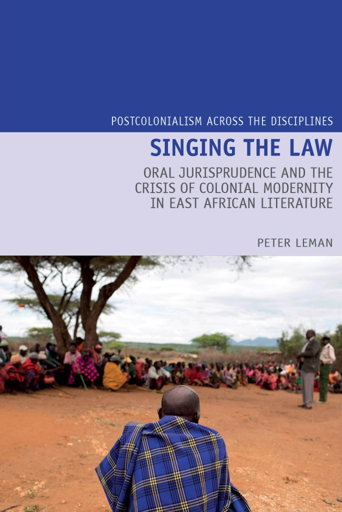 Book cover for Singing the Law by Peter Leman